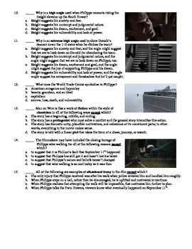 Man on Wire Film (2008) 15-Question Multiple Choice Quiz