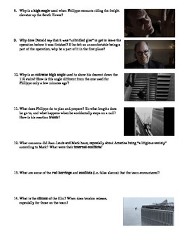 Man on Wire Film (2008) Study Guide Movie Packet