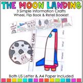 Man on the Moon Wheel and Flip Book Activities
