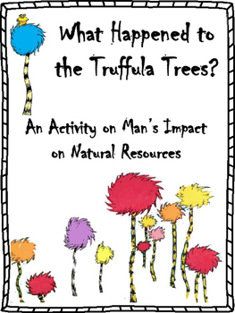 man 39 s impact on natural resources the lorax activity tpt. Black Bedroom Furniture Sets. Home Design Ideas