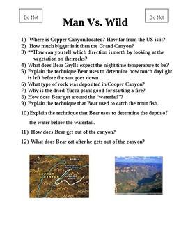 Man vs. Wild   Copper Canyon
