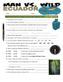 Man vs Wild Ecuador, Amazon Jungle  (video worksheet)