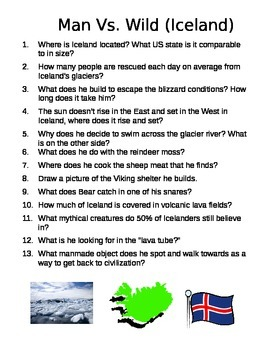 Man vs. Wild  Iceland episode