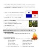 Man vs Wild Panama Jungle (Video Worksheet)