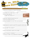 Man vs Wild Sahara Desert (video worksheet)