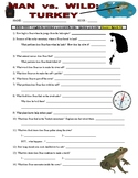 Man vs Wild Turkey (video worksheet)