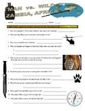 Man vs Wild Zambia (video worksheet)