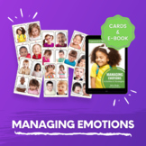 Managing Emotions Activity Kit for daycare, family childcare,homeschool, Prek