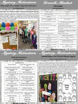 Manage Mischief With Mystery Motivators (Whole Class & Individual Student)