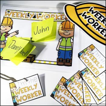 Weekly Workers - Classroom Jobs