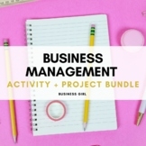 Business Management Activity Bundle