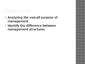 Management - Intro to Business Ch. 7