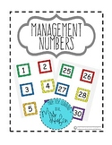 Management Numbers