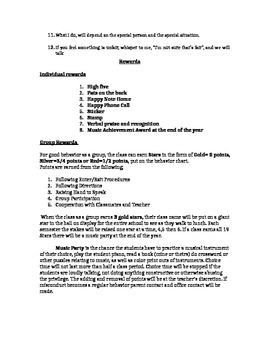 Management Plans for Music