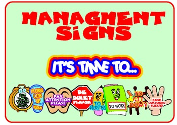 Management Signs