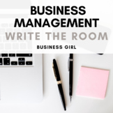 Business Management Terminology QR Code Scavenger Hunt