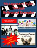 Management Types-Hollywood Style!