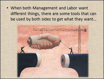 Management Versus Labor PowerPoint