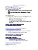 Management and Business Motivation Webquest