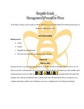 Management and Procedures