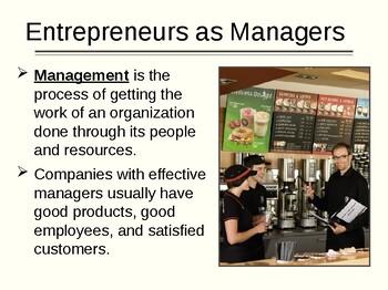 Management for Entrepreneurship