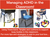 Managing AD(H)D in the Classroom