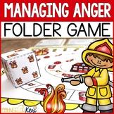 Managing Anger File Folder Game: Anger Management Counseling Game