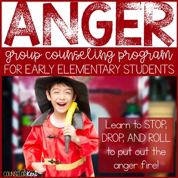 Anger Management Activities: Anger Group Counseling Program School Counseling