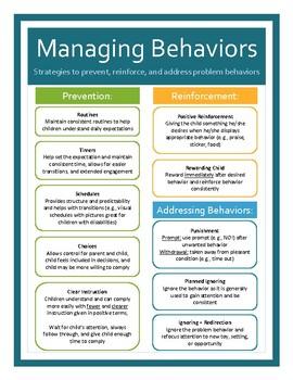 Managing Behaviors in Toddlers