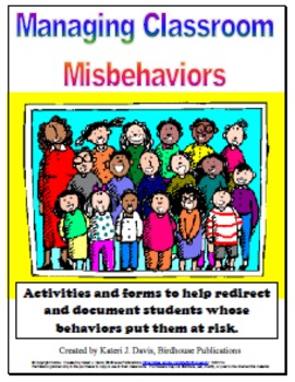 Managing Classroom Misbehaviors:  Packet of Activities & Documentation Forms
