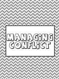 Managing Conflict Counseling Lesson Plan