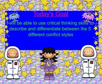 Managing Different Conflict Styles SMARTboard Guidance Lesson