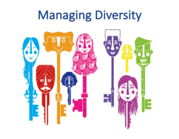 Managing Diversity (Management)