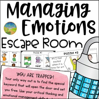 Managing Emotions Escape Room