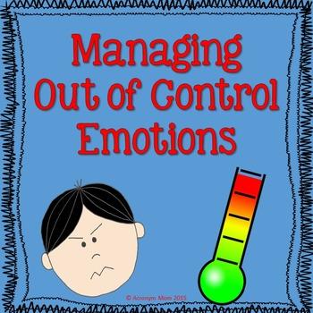 Managing Emotions (Anger)