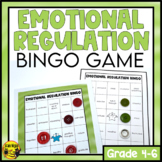 Emotional Regulation Bingo