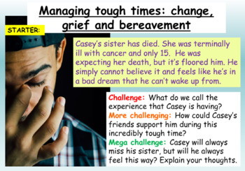 Managing Grief and Bereavement