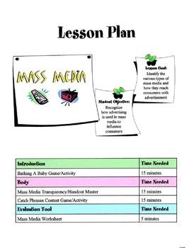 Managing Mass Media Lesson