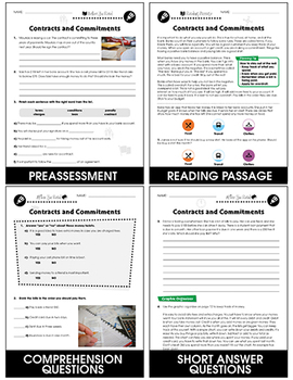 Managing Money: Contracts & Commitments Gr. 9-12+