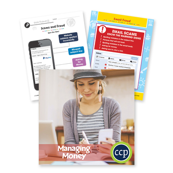 Managing Money: Email Fraud - BONUS WORKSHEETS