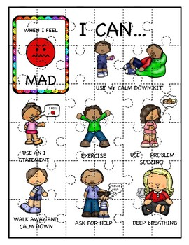 Managing My Emotions - Puzzles