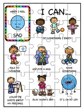 Emotion Puzzles: Healthy Coping Skills