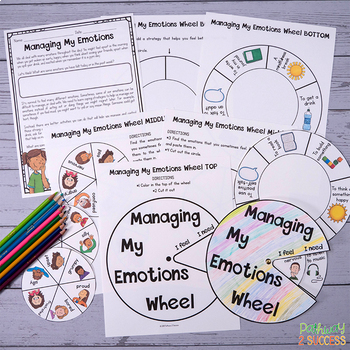 Managing My Emotions Wheel