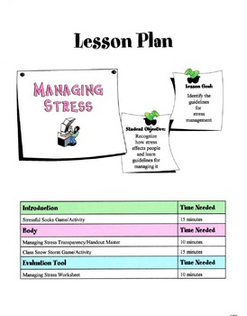 Managing Stress Lesson