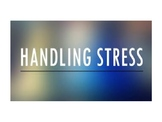 Managing Stress in Upper School