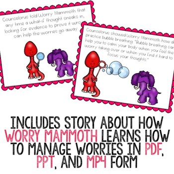 Managing Worry Classroom Guidance Lesson for Early Elementary School Counseling