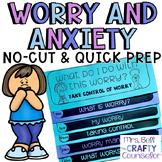 Managing Worry Flipbook #COUNSELORSBACK4SCHOOL