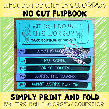 Managing Worry Flipbook