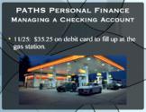 Managing a Checking Account