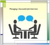 Managing a Successful Job Interview